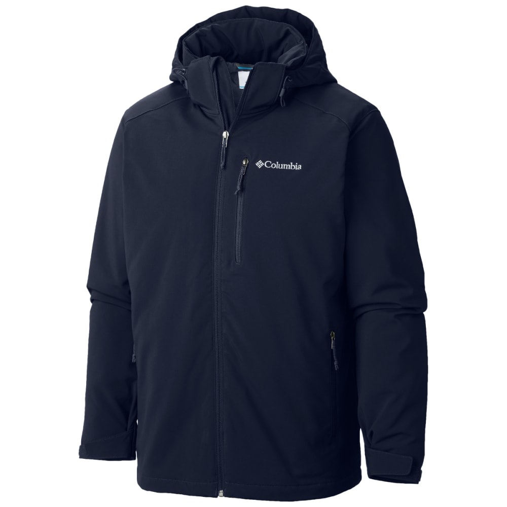 COLUMBIA Men's Gate Racer Softshell Jacket - COLLEGIATE NVY-465