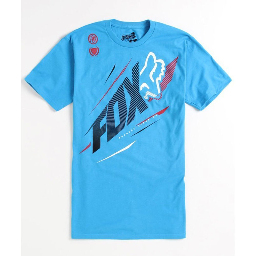 FOX HEAD Young Men's Shockpoint Tee - ELECTRIC BLUE