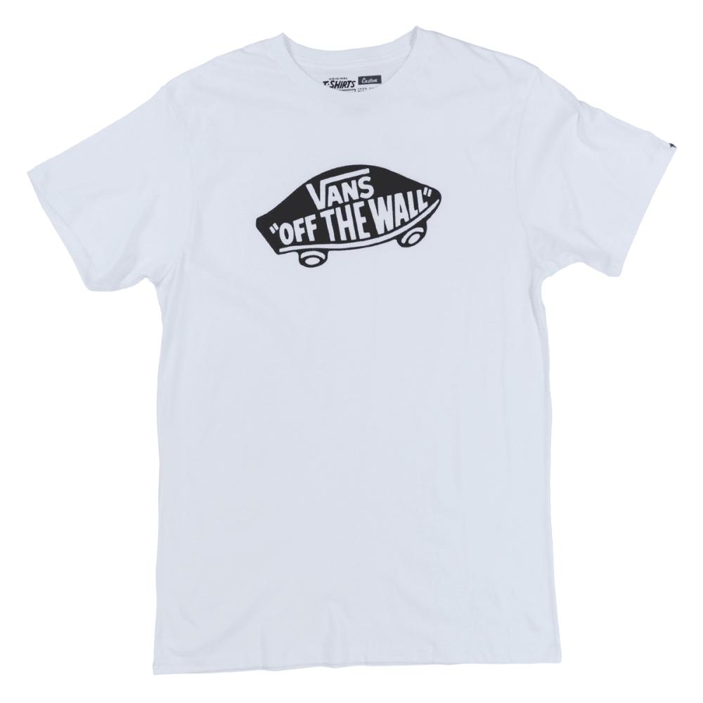 VANS Guys' Logo Tee - WHITE