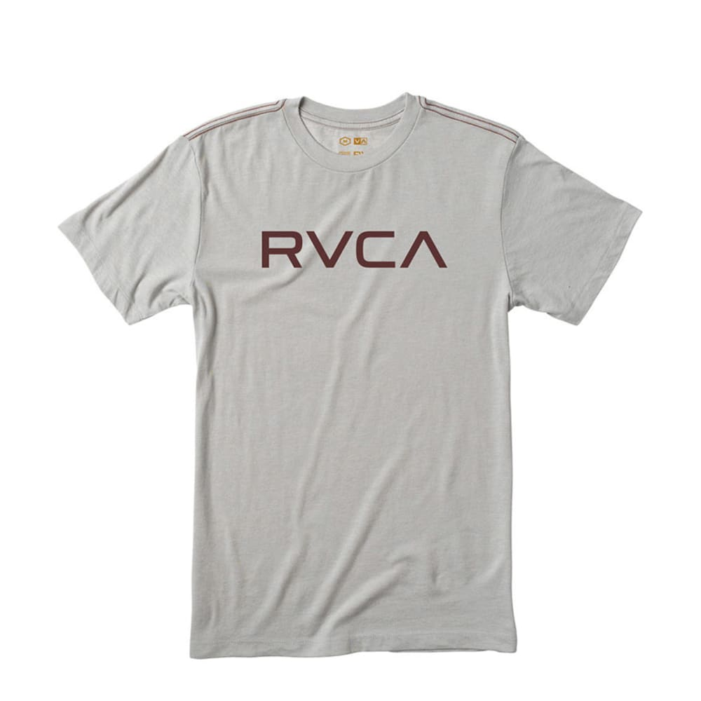 RVCA Guys' Big RVCA Cool Tee - COOL GREY