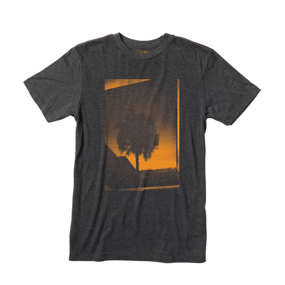RVCA Guys' Palm Reflection T-Shirt - BLACK