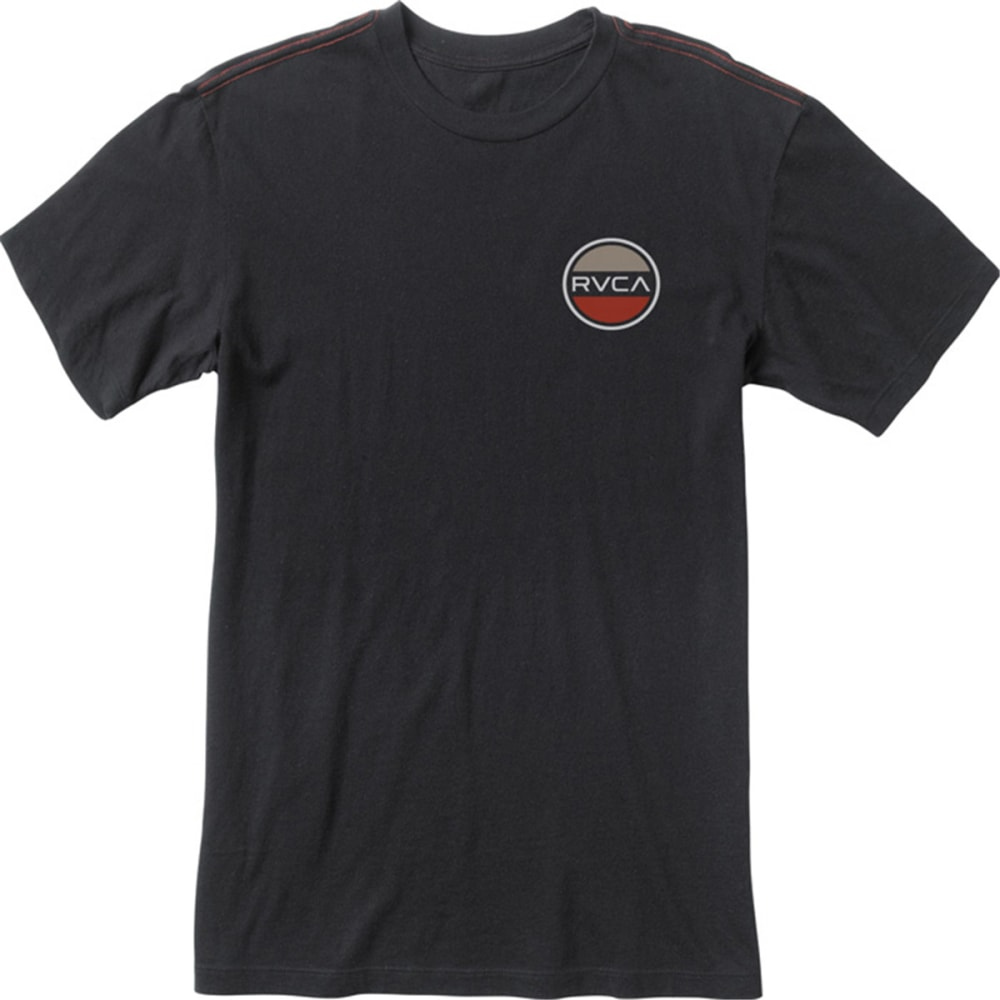 RVCA Guys' RVCA Black Station Tee - BLACK