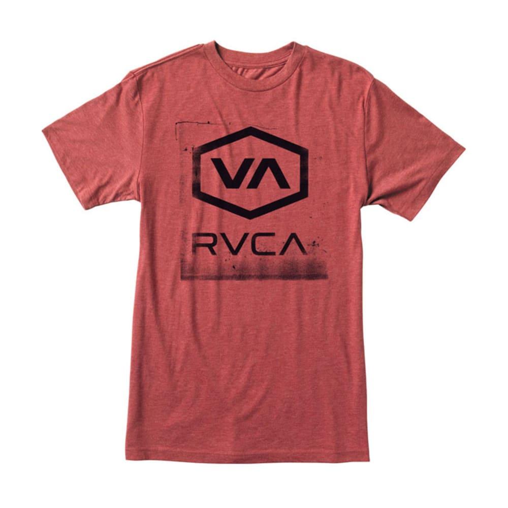 RVCA Guys' Sixagon T-Shirt - BARK