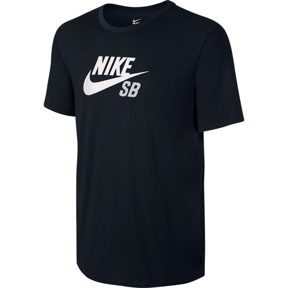 NIKE SB Men's Dri-Fit Logo Tee - BLACK