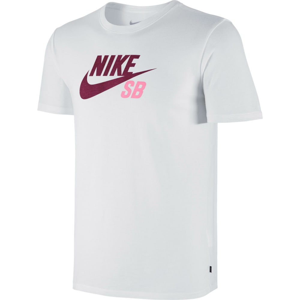 NIKE SB Men's Dri-Fit Logo Tee - WHITE