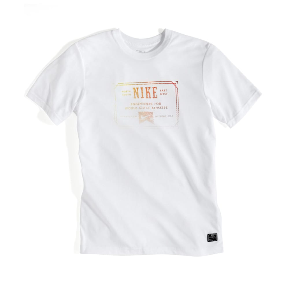 NIKE ACTION Blam Dri Fit Blend Tee - WHITE
