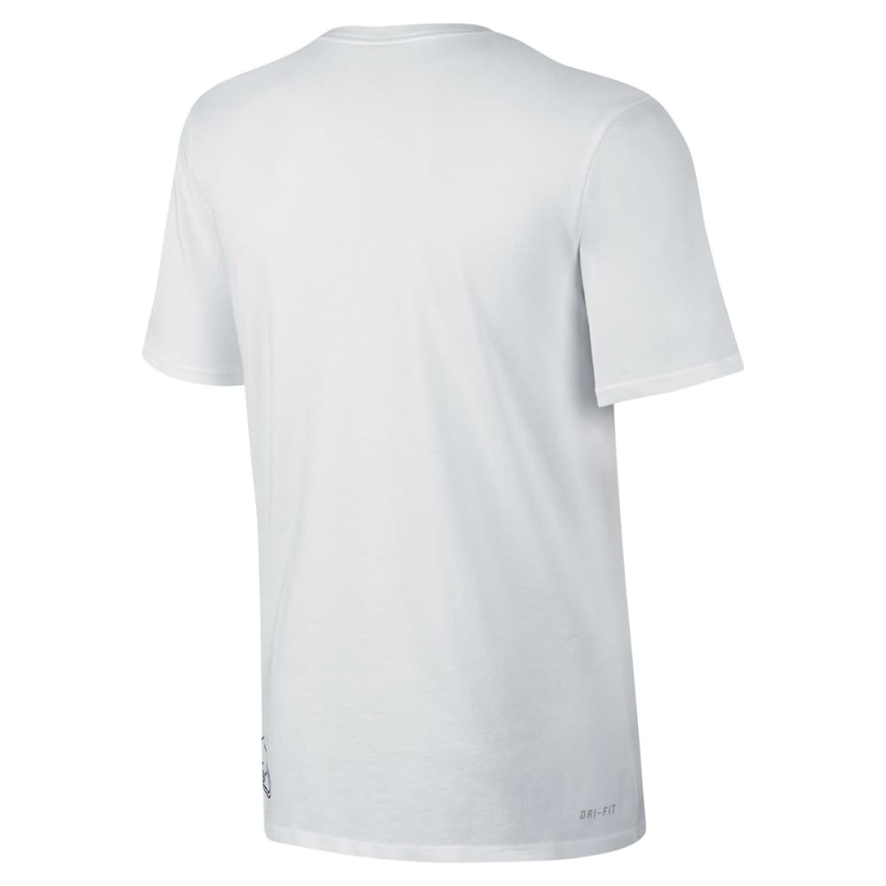 NIKE SB Guys' SB Dri-Fit Letterman Tee - WHITE