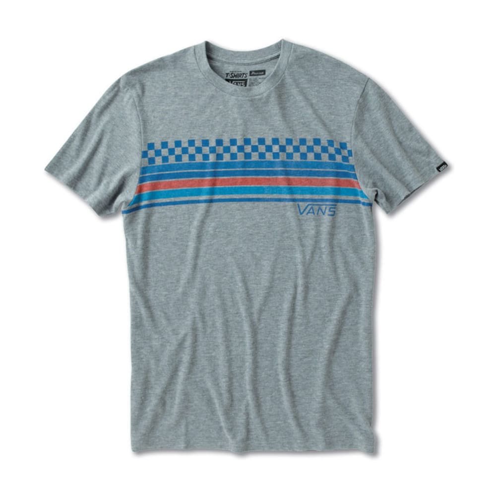 VANS Guys' Pista Tee - ATHLETIC GRAY