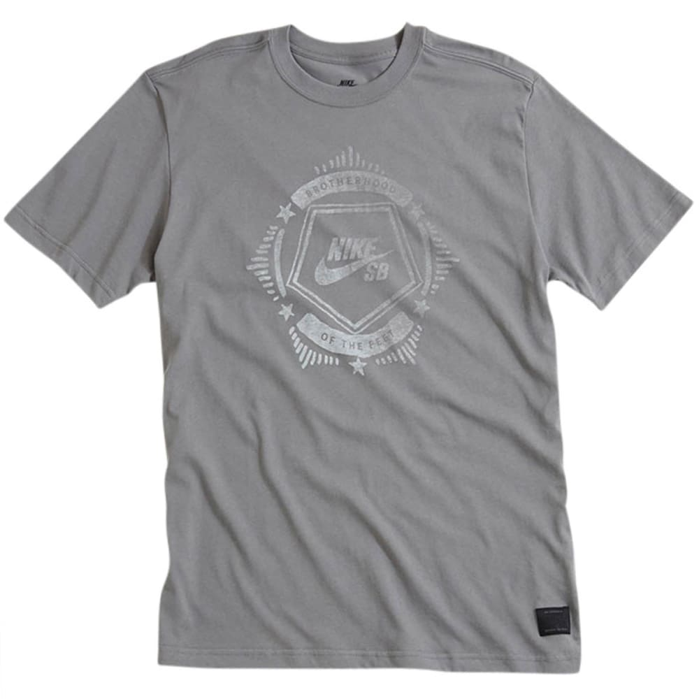 NIKE SB Guys' Dri-Fit Emblem Tee - GREY