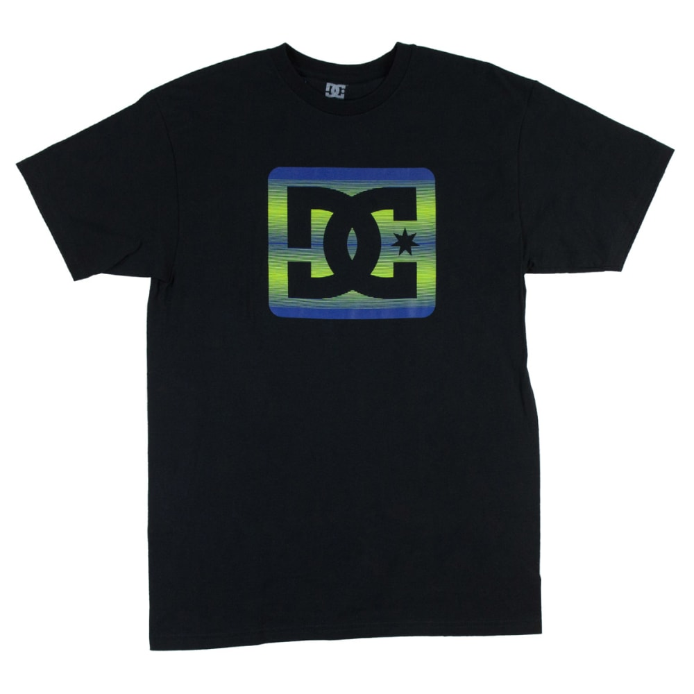 DC SHOES Guys' Square Stars Tee - BLACK