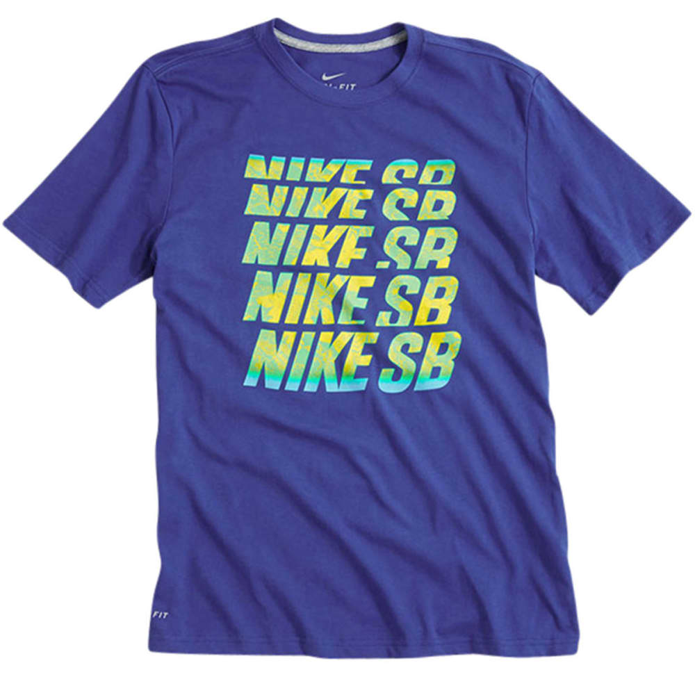 NIKE SB Guys' Dri-Fit Descendant Tee - ROYAL BLUE