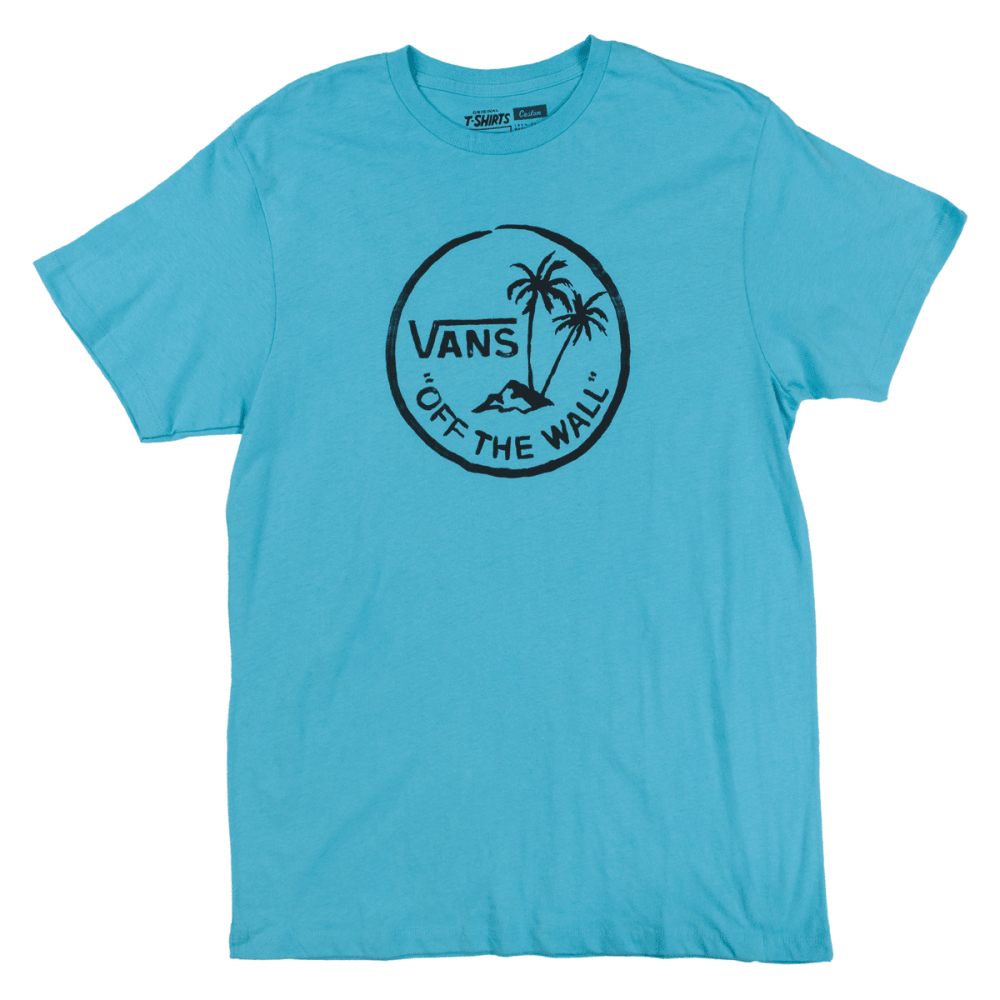 VANS Guys' Palm Island Tee - LT GREEN