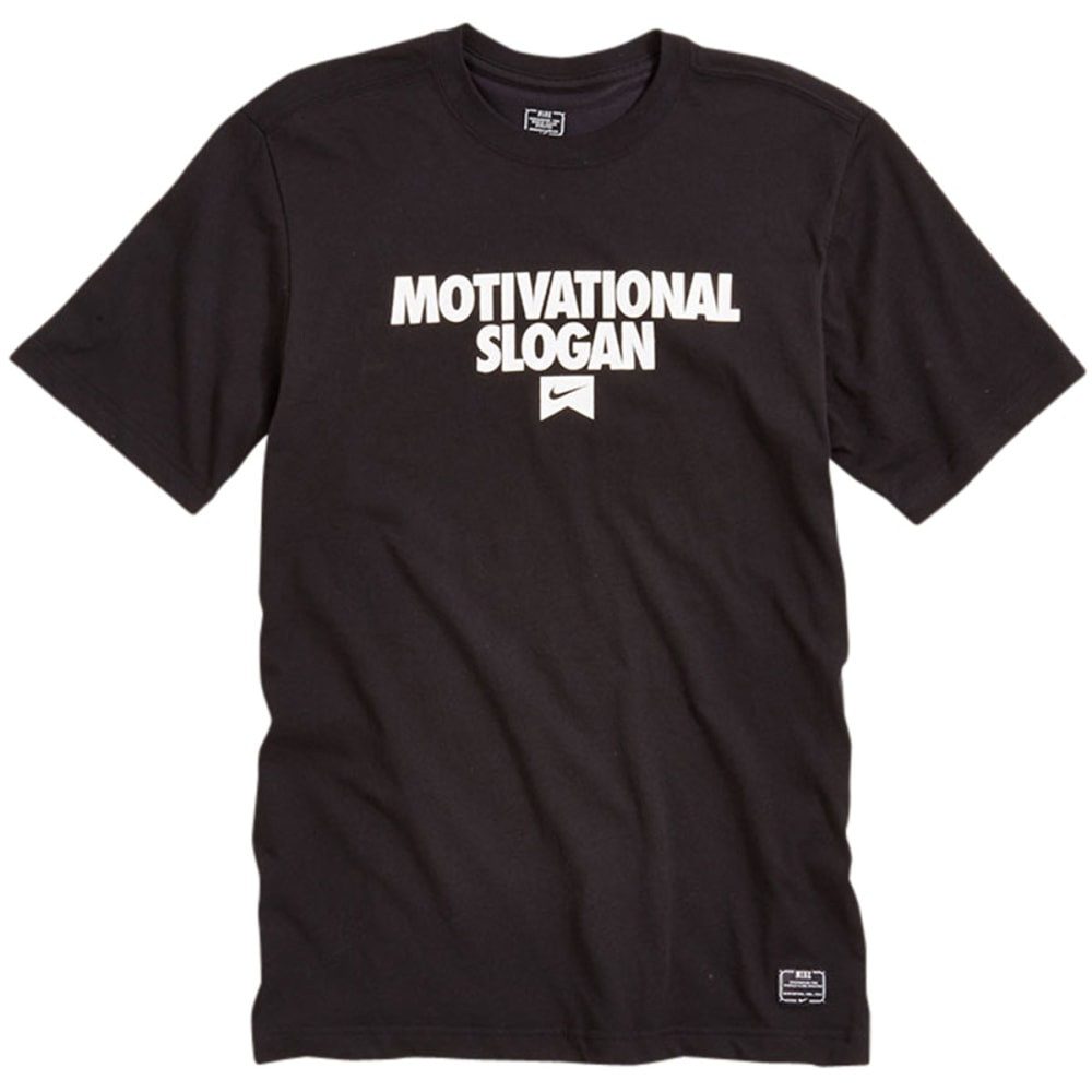 NIKE SB Guys' Motivational Slogan Tee - BLACK