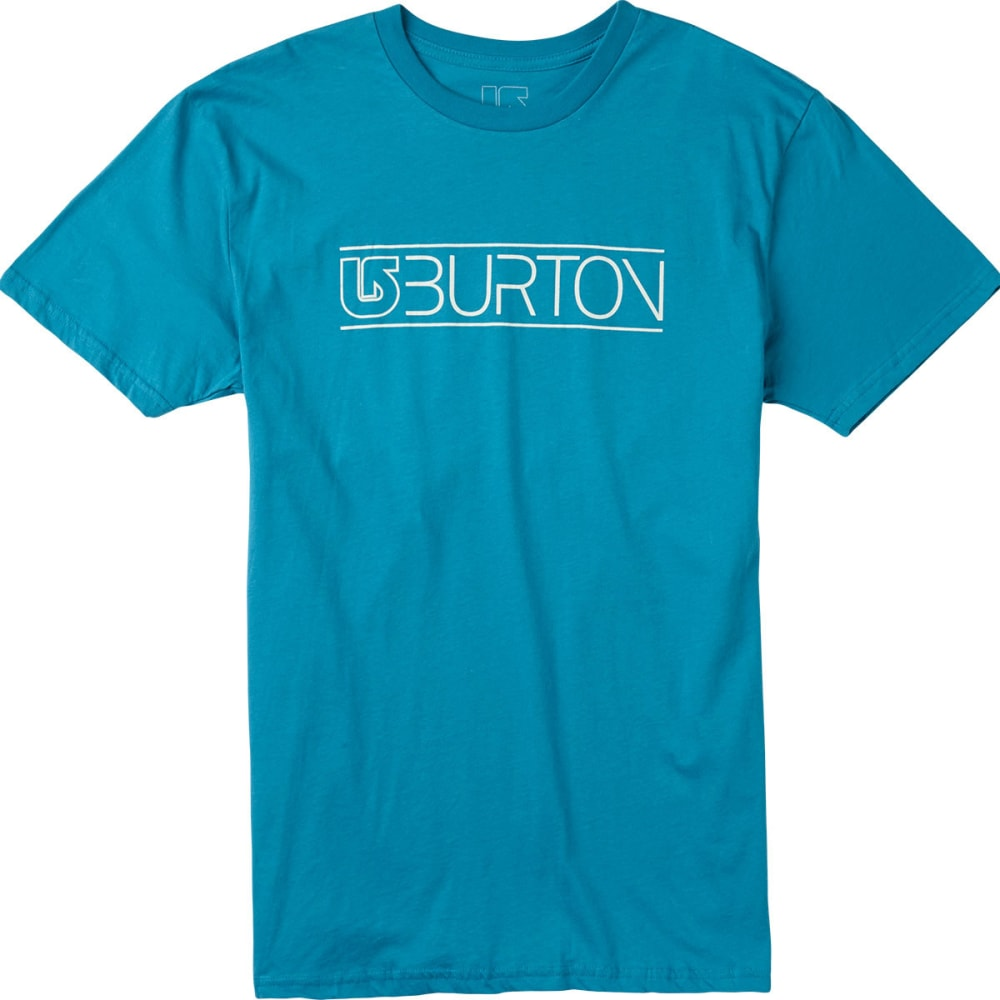 BURTON Guys' Warned Type Tee - ENAMEL BLUE