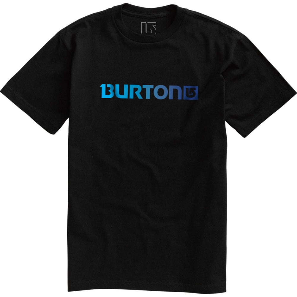 Burton Men's Logo Horizontal Short Sleeve Tee - BLACK