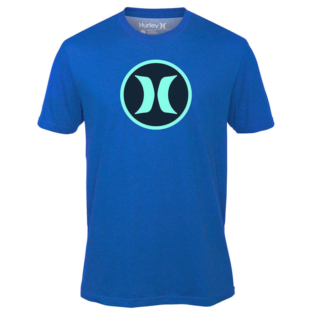 HURLEY Guys' Icon Dri-Fit Tee - HYPER COBALT