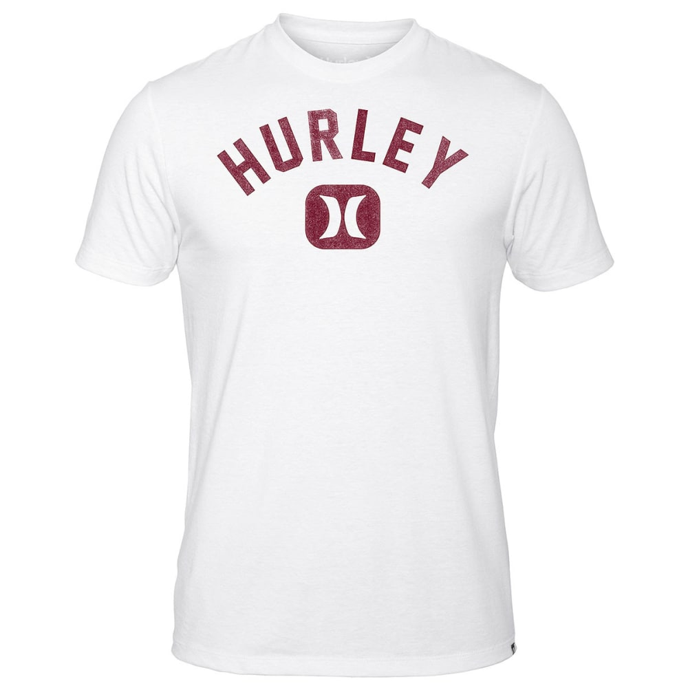 HURLEY Guys' Icon Slash Fill Tee - WHITE