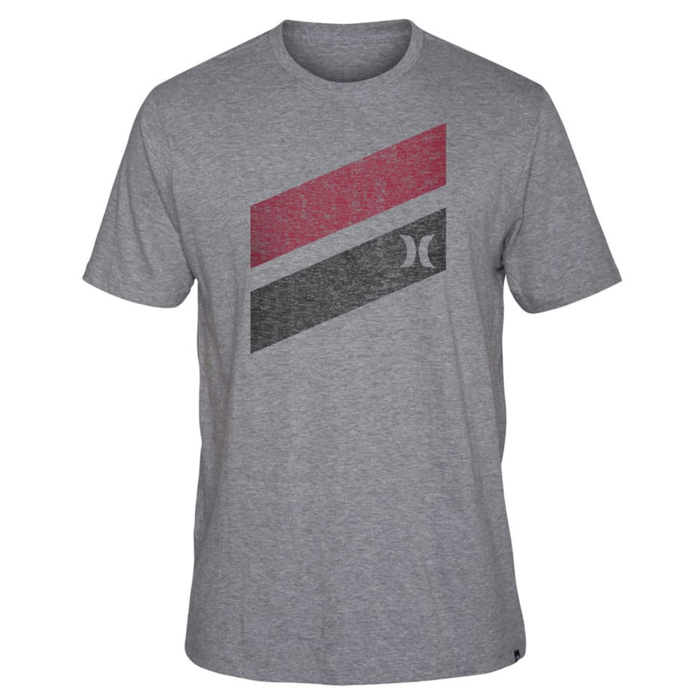 Hurley Men's Icon Slash Push Through SS Tee - NINE IRON