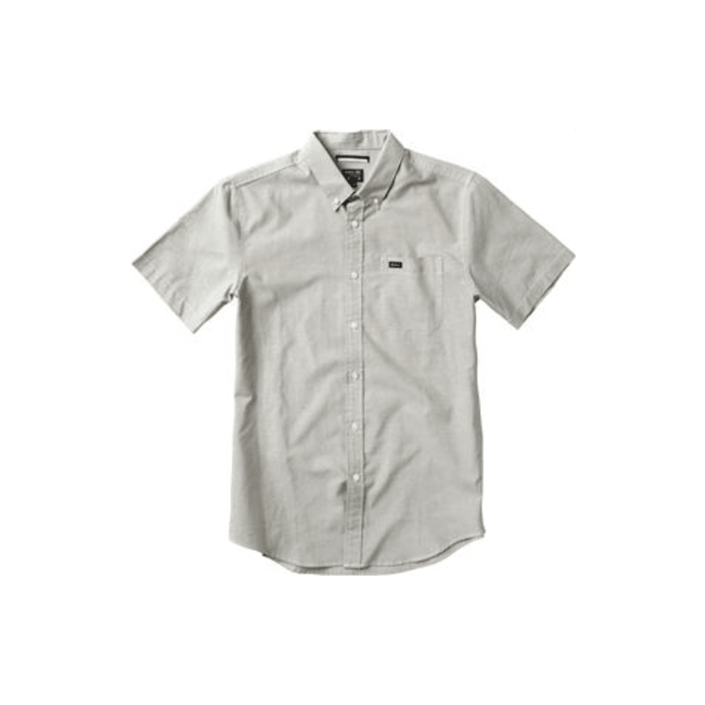 RVCA Guys' That'll Do Oxford Shirt - KHAKI