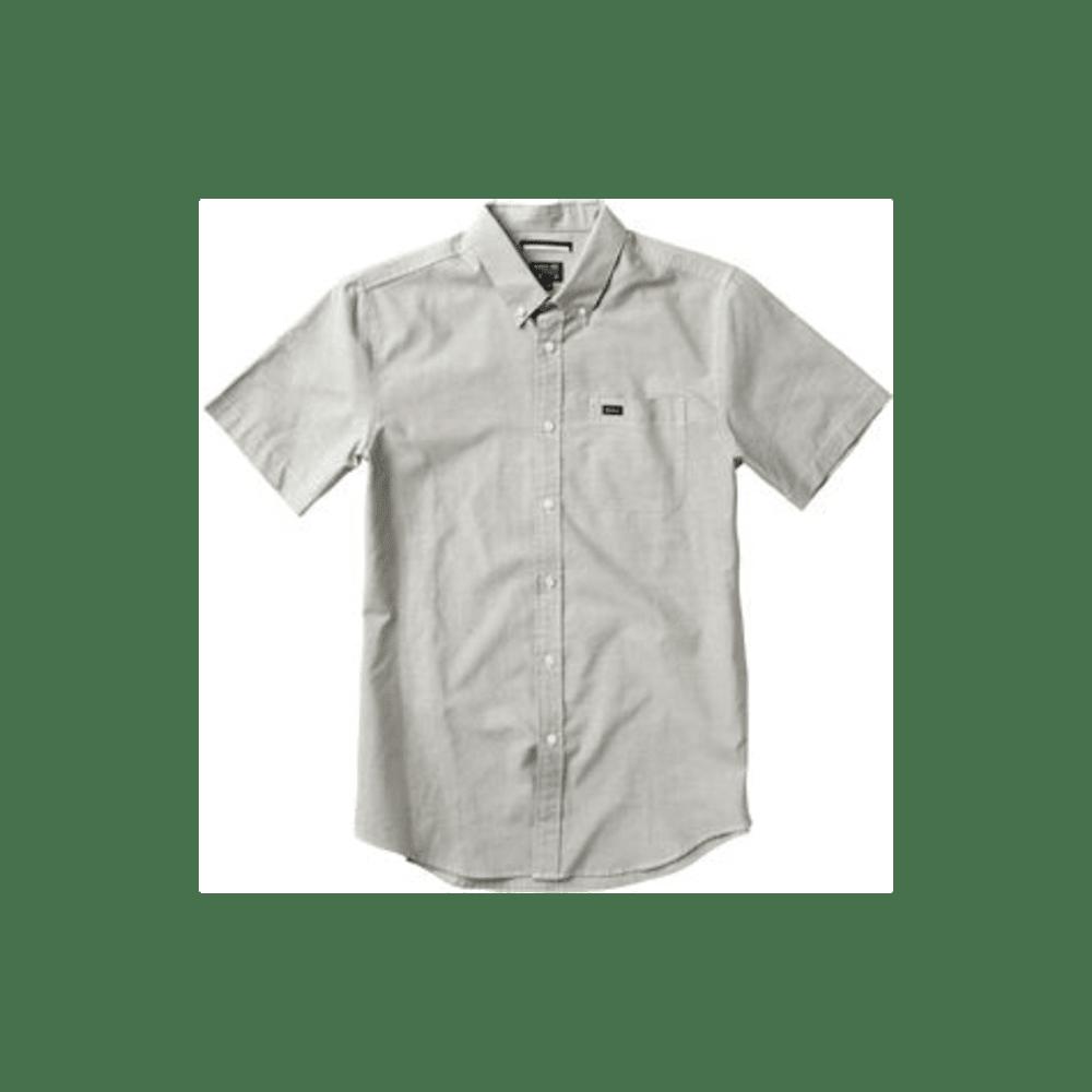RVCA Guys' That'll Do Oxford Shirt - KHAKI