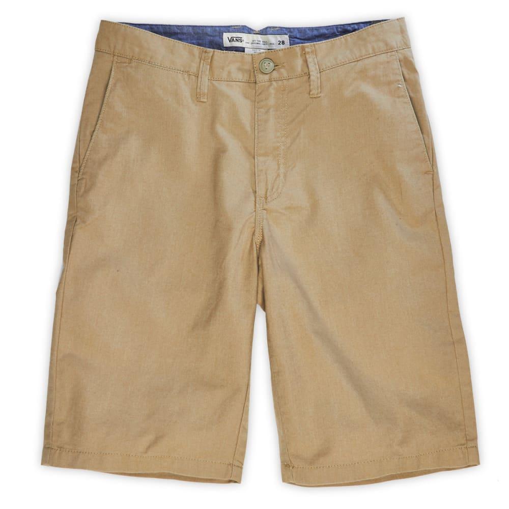 VANS Guys™ Dewitt Khaki Shorts - NEW HEATHER KHAKI