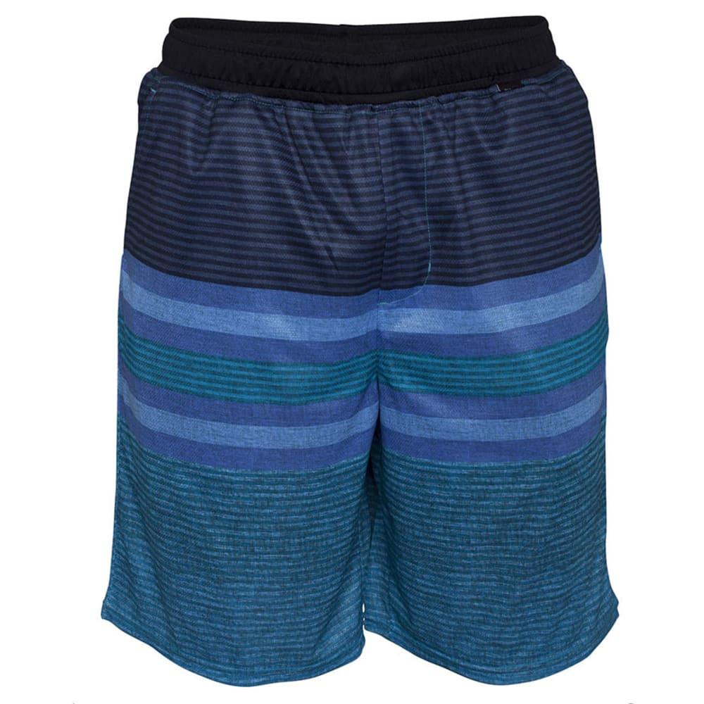 HURLEY Guys' Warp Volley Walkshorts - CYAN
