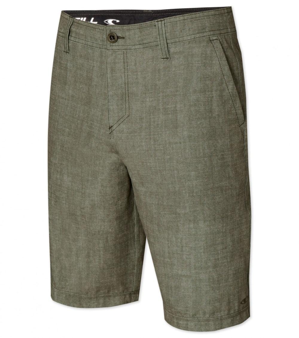 O'NEILL Men's Loaded Hybrid Shorts - MILITARY GREEN-MGN