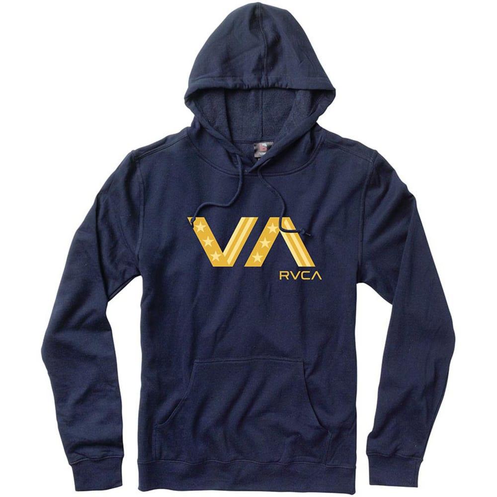 RVCA Young Men's VA All Stats Pullover - NAVY