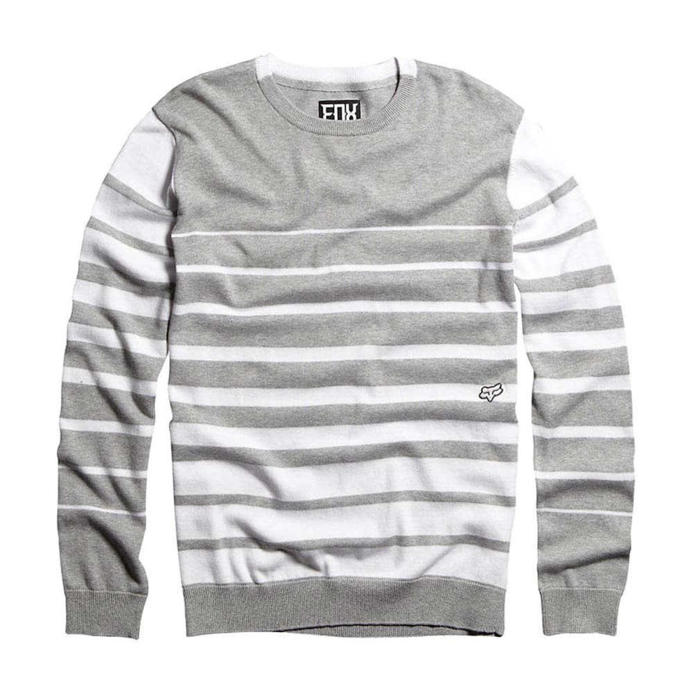 FOX HEAD Guys' Grindle Sweater - WHITE