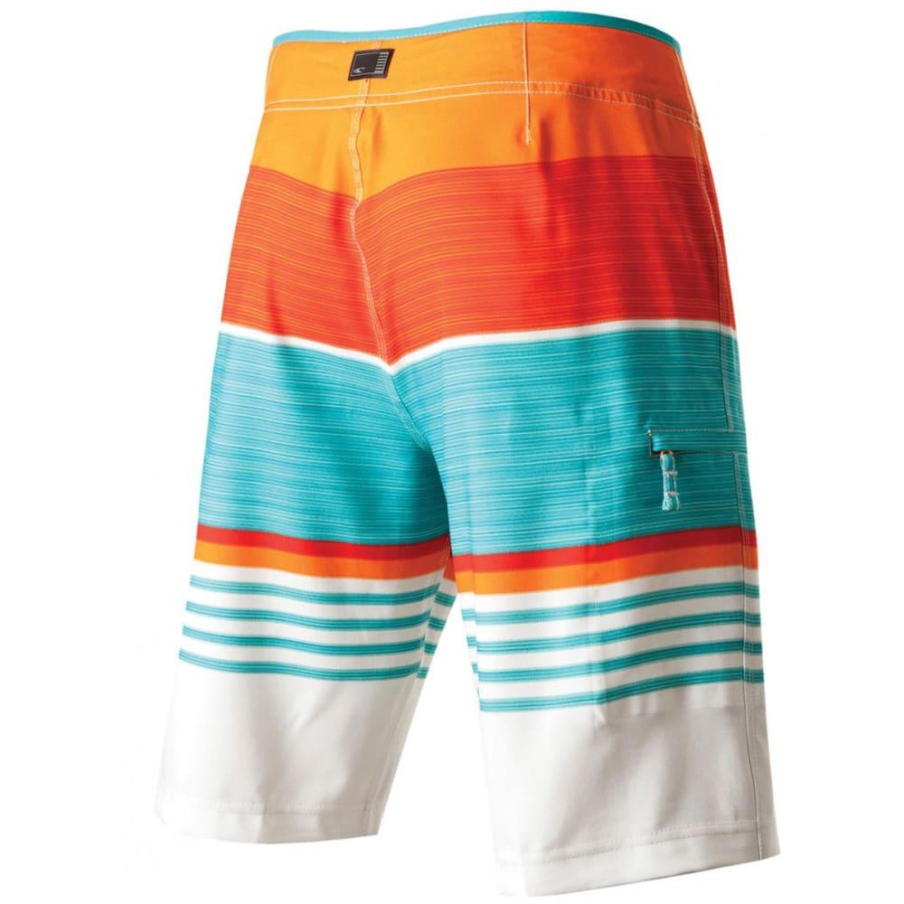 O'NEILL Men's Heist Board Shorts - BOLT ORANGE