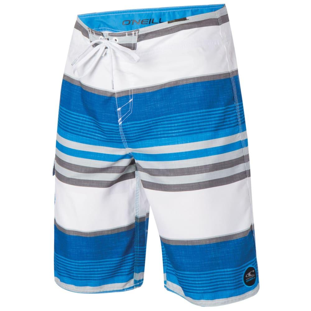 O'NEILL Guys™ Santa Cruz Stripe Board Shorts - BRIGHT BLUE