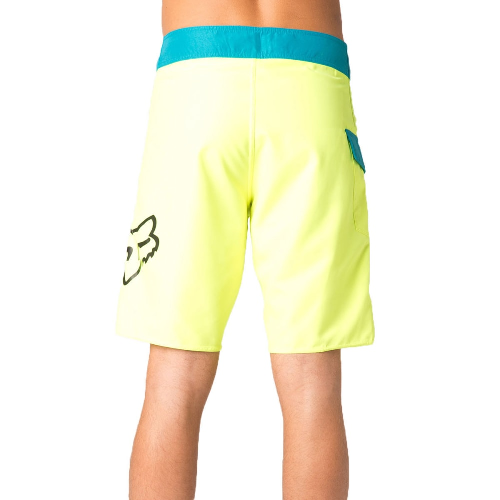 FOX Guys' Overhead Board Shorts - FLUORESCENT YELLOW