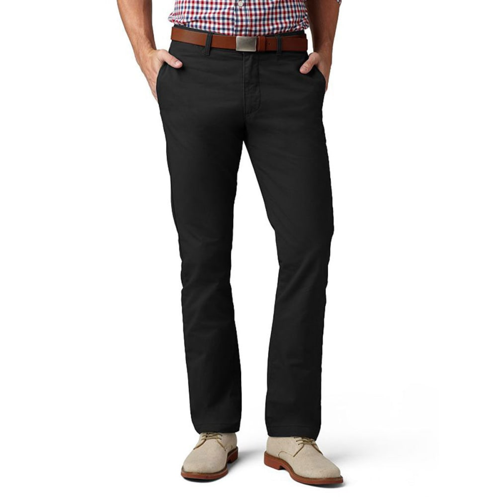 DOCKERS Men's Modern Khaki Pants - BLACK