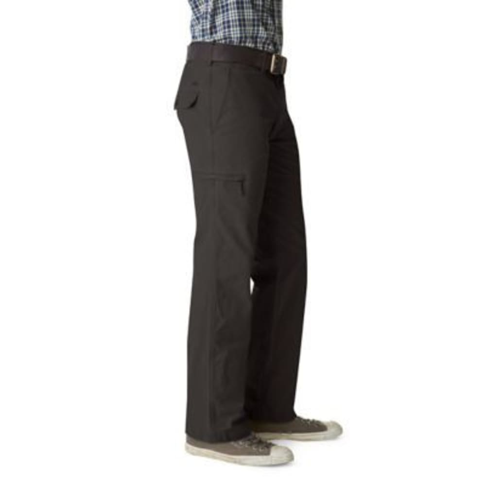 DOCKERS Men's Crossover Cargo Khaki Pants - FORGED IRON 0003