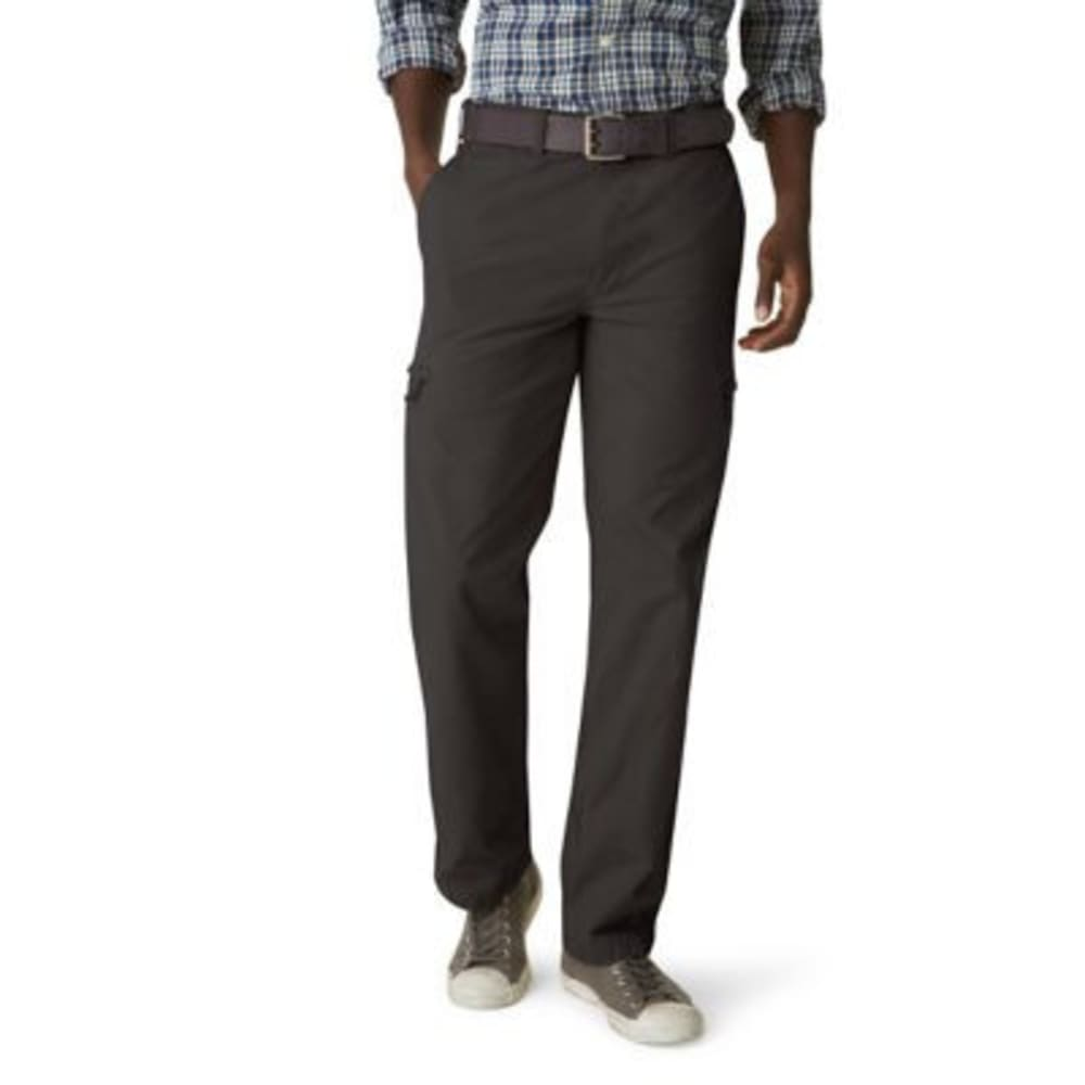 Dockers Men's Crossover Cargo Khaki Pants - Black, 30/30