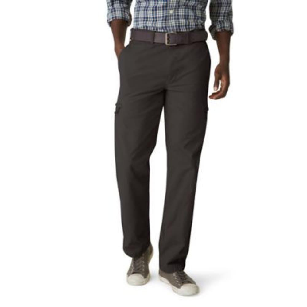 DOCKERS Men's Crossover Cargo Khaki Pants - FORGED IRON 0003