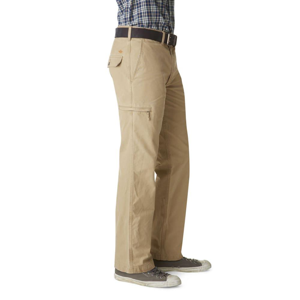 DOCKERS Men's Crossover Cargo Khaki Pants - NEW BRIT KHAKI 0001