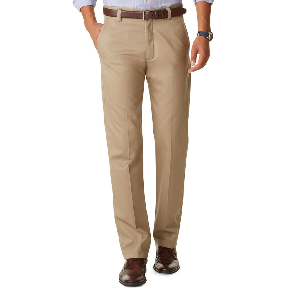 DOCKERS Men's Signature Slim Fit Pants - KHAKI  0008