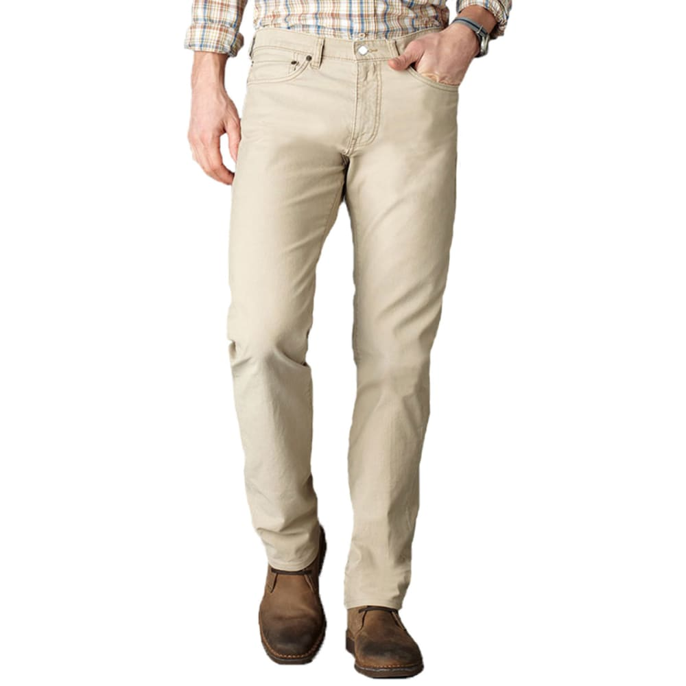 DOCKERS Men's 5 Pocket Straight Fit Pants - Discontinued Style - KHAKI