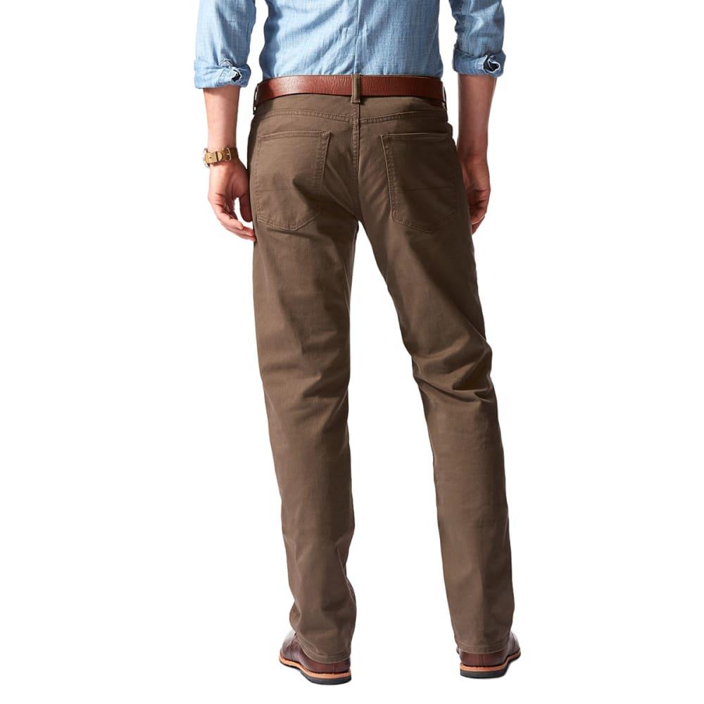 DOCKERS Men's Jean Cut 5-Pocket Straight Leg Twill Pants - SMOKEY HAZELNUT 0003