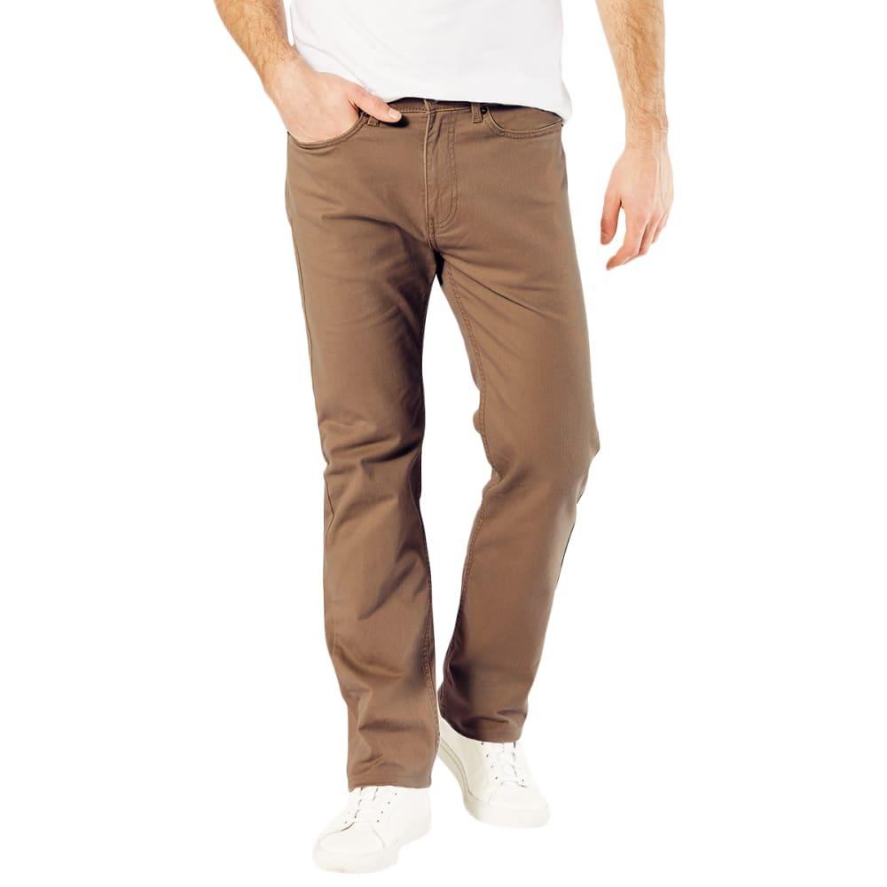 DOCKERS Men's Jean Cut 5-Pocket Straight Leg Twill Pants 30/30