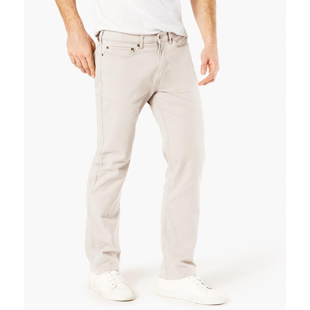 DOCKERS Men's Jean Cut 5-Pocket Straight Leg Twill Pants - MARBLE 0013