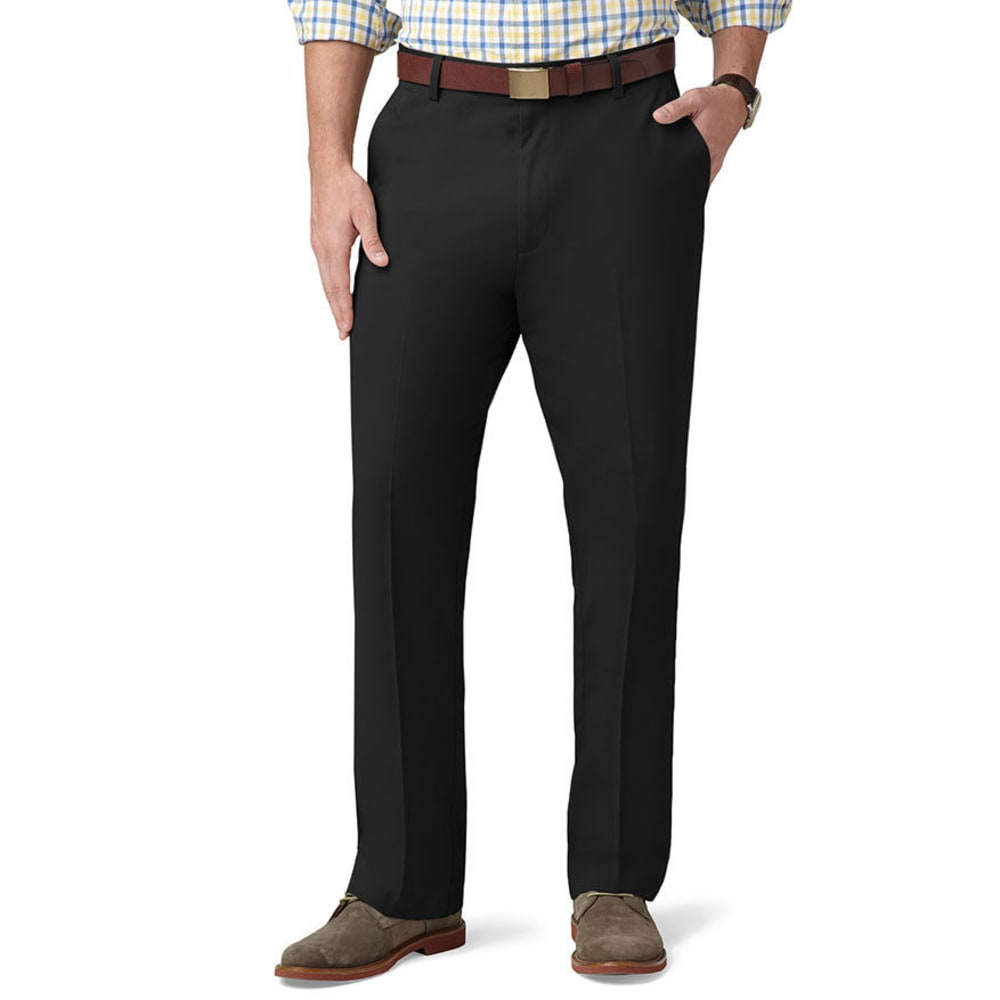 DOCKERS Men's Easy Khaki Classic Fit Pants - BLACK 0001