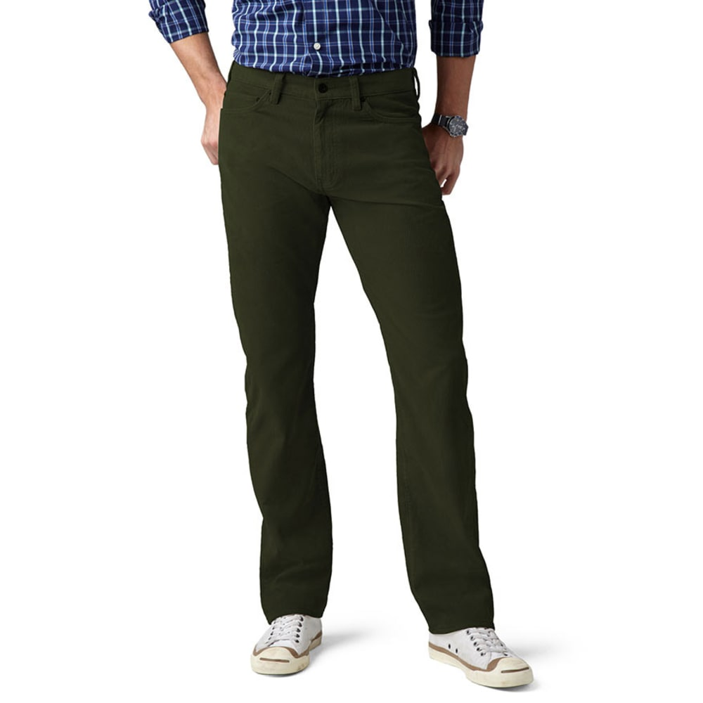 DOCKERS 5 Pocket Cord Khaki Pants - Discontinued Style - ROSIN