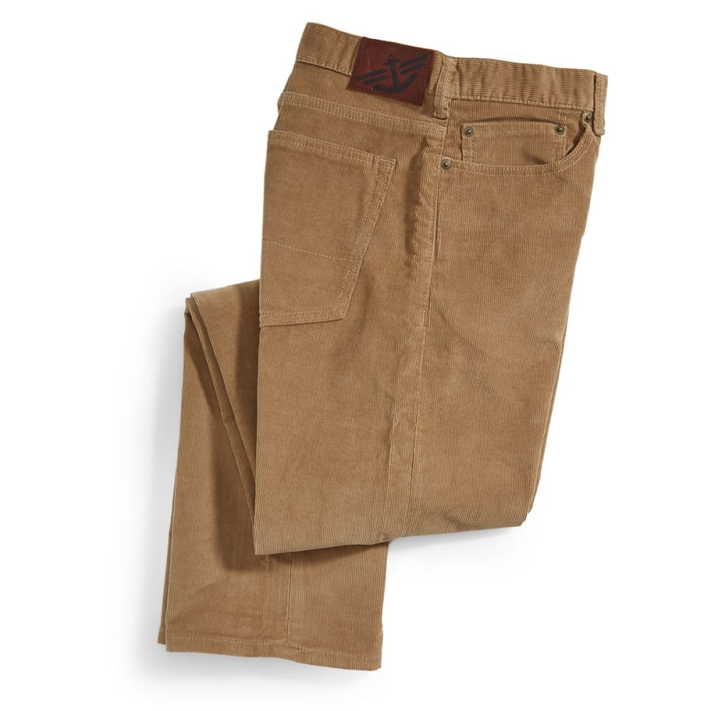 DOCKERS Men's 5-Pocket Straight Leg Corduroy Pants, Camel - CARMEL KHAKI 0004