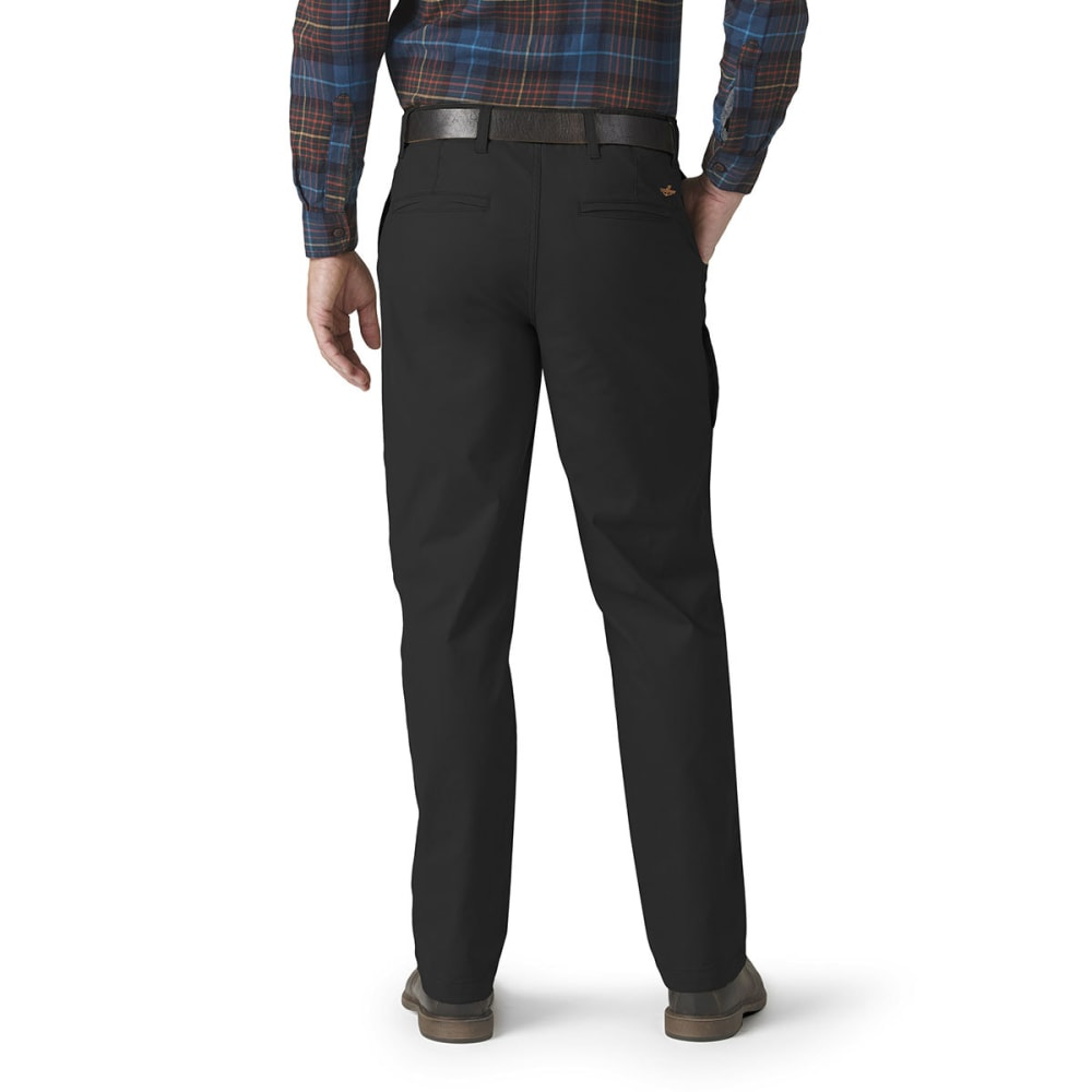 DOCKERS Men's On The Go Khaki Pants - BLACK 0006