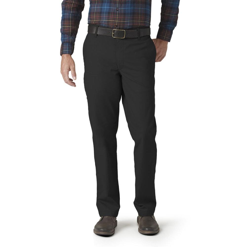 DOCKERS Men's On The Go Khaki Pants - BLACK 0006