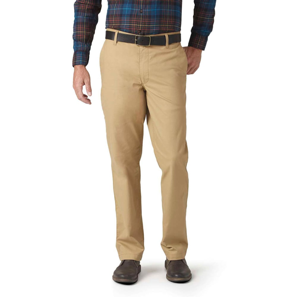 Dockers Men's On The Go Khaki Pants - Brown, 34/29