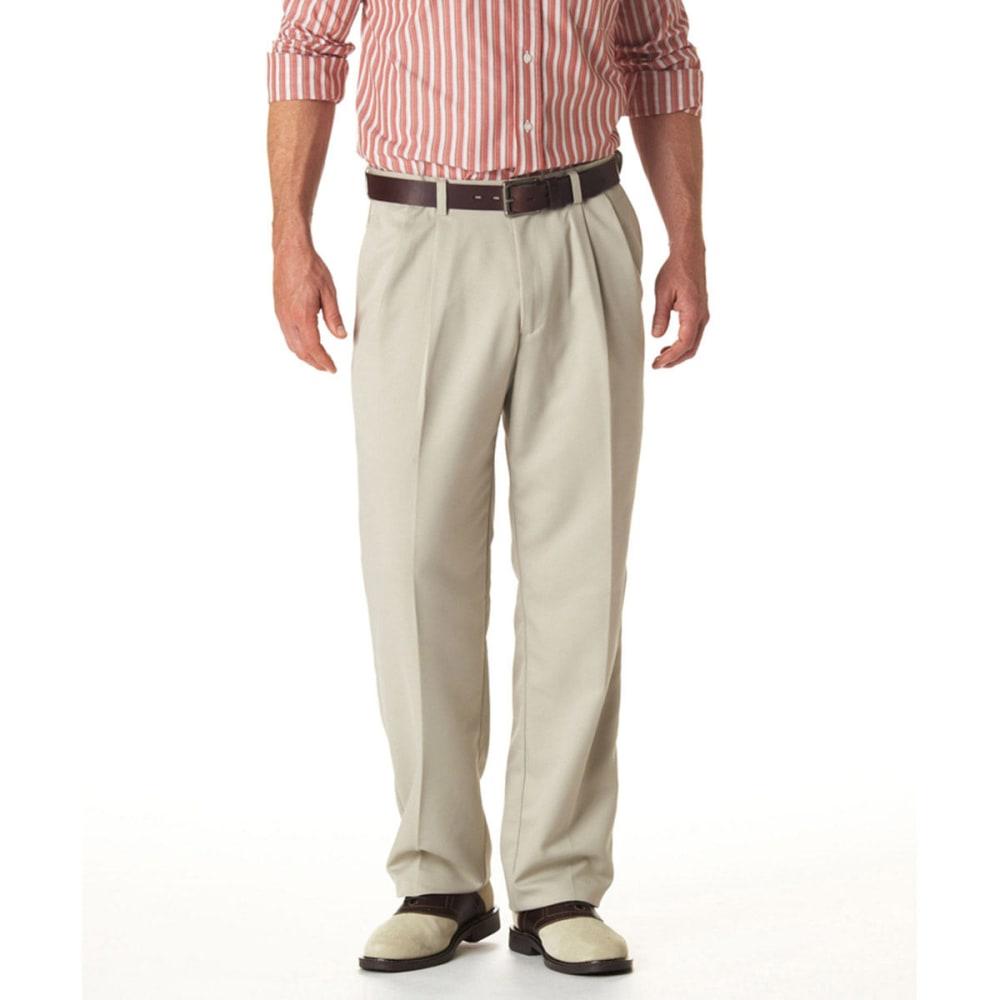 HAGGAR Cool 18 Pleated Pants 32/32