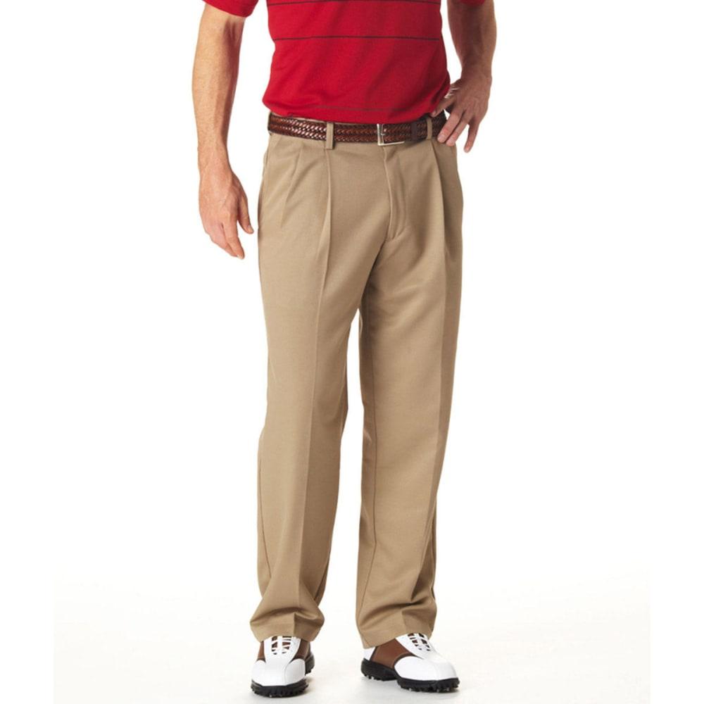 HAGGAR Cool 18 Pleated Pants - BRITISH KHAKI-71